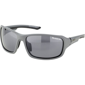 Alpina Lyron P Lunettes, grey matt-black/black mirror